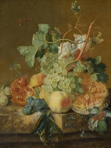 Still Life with Fruit by Jan van Huysum