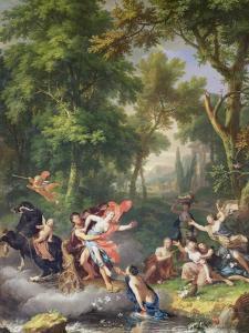 The Rape of Proserpine by Jan van Huysum