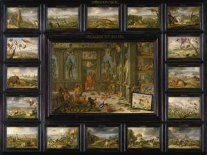 Aus Dem Zyklus Die Vier Erdteile: Amerika, 1666 by Jan van Kessel