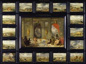 From the Cycle of the Four Continents: Africa by Jan van Kessel