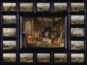 From the Cycle of the Four Continents: Europe by Jan van Kessel