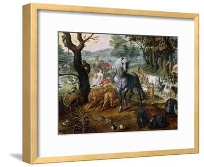 Animals Entering Noah's Ark