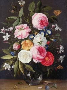 Still Life of Flowers in a Vase, 1661 by Jan van Kessel