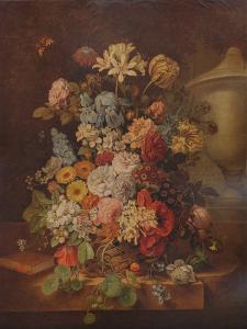 'Flower Piece', c1796, (1938) by Jan van Os