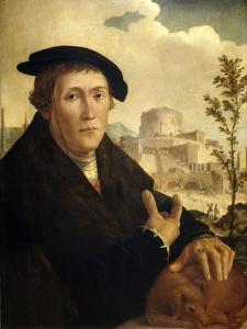 A Humanist, Ca. 1525 by Jan van Scorel