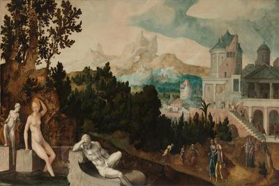 Landscape with Bathsheba, c. 1540-45