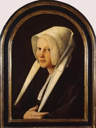 Portrait of Agatha Van Schoonhoven, 1529