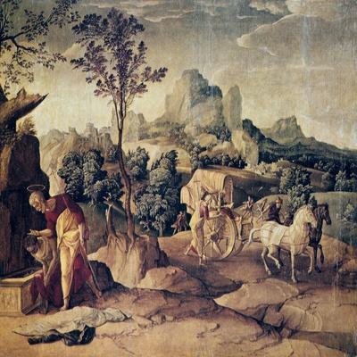 The Apostle Philip Baptizing the Eunuch, 16th Century