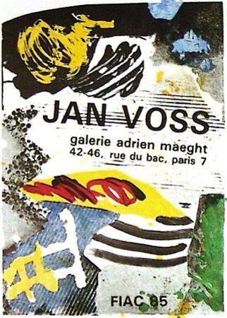 Expo FIAC 85 by Jan Voss