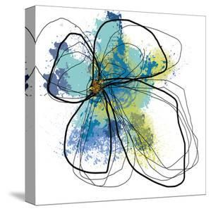 Azure Petals One by Jan Weiss