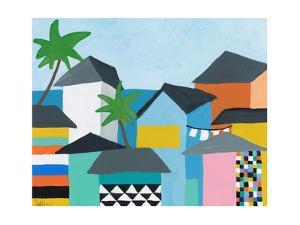 Beachfront Property 3 by Jan Weiss