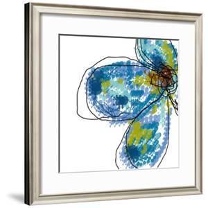 Blue Petals by Jan Weiss