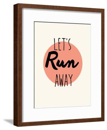Lets Run Away On Orange
