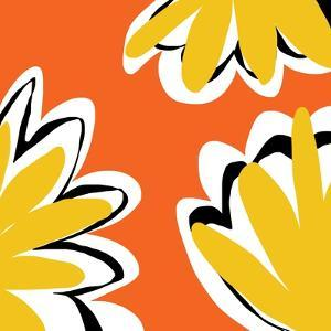 Oh So Pretty - Orange 2 by Jan Weiss