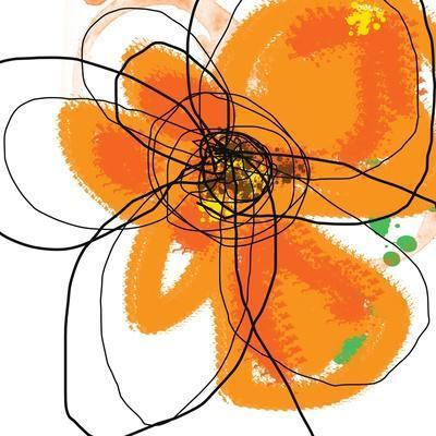 Orange Petals 2