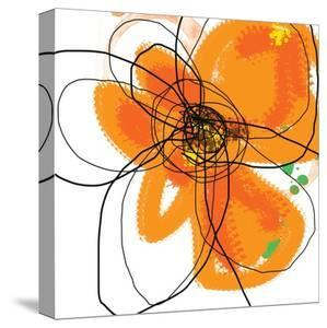 Orange Petals 2 by Jan Weiss