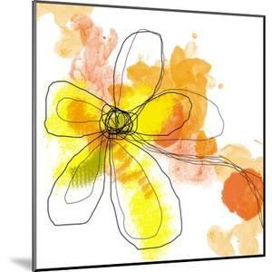 Yellow Liquid Flower by Jan Weiss