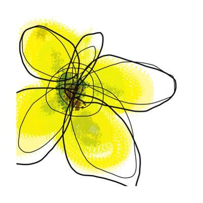 Yellow Petals 1 by Jan Weiss