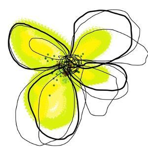 Yellow Petals One by Jan Weiss