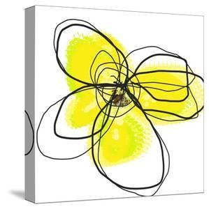 Yellow Petals Two by Jan Weiss