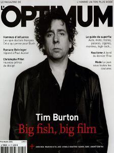 L'Optimum, March 2004 - Tim Burton by Jan Welters