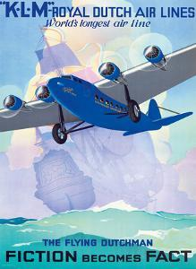 KLM Royal Dutch Airlines - The Flying Dutchman - Fiction becomes Fact by Jan Wijda