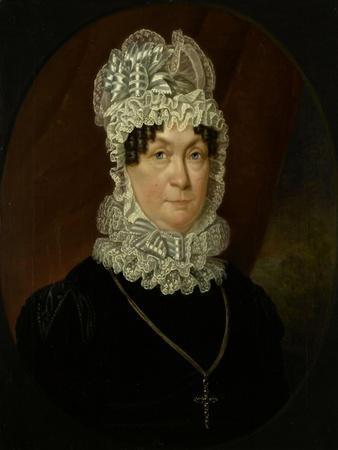 Portrait of Ann Brander (Died), Wife of Job Seaburne May