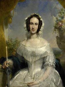 Agatha Petronella Hartsen by Jan Willem Pieneman