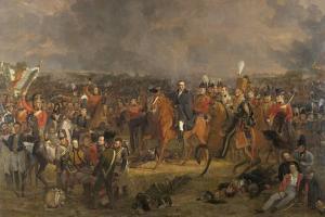 Battle of Waterloo by Jan Willem Pieneman