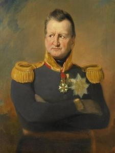 Portrait of Baron David Hendrik Chasse by Jan Willem Pieneman