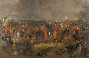 The Battle of Waterloo, 1824 by Jan Willem Pieneman