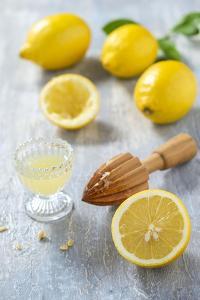 Lemons, Citrus-Press and Juice by Jana Ihle