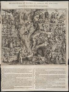Detail from a Witches' Sabbath, Illustration from 'tableau De L'Inconstance Des Mauuais Anges Et… by Jana Ziarnki