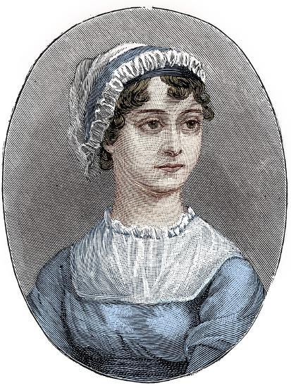 Jane Austen (1775-1817), English novelist-Unknown-Giclee Print