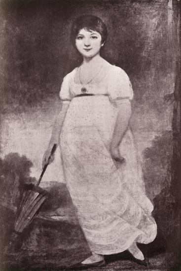 'Jane Austen', c1789, (1919)-Unknown-Giclee Print