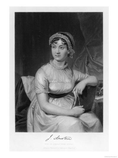Jane Austen English Novelist--Giclee Print