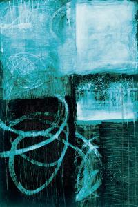A Wintry Day IV Dark Blue by Jane Davies