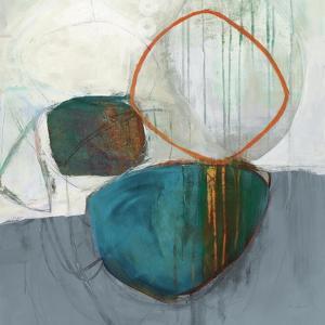 Circle Tower Turquoise Crop by Jane Davies