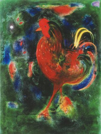 Cockerel, 2005 by Jane Deakin