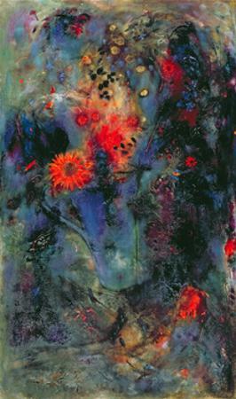 Sunflower, 2002 by Jane Deakin