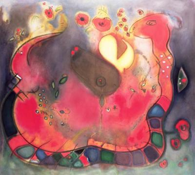 The Sacred Snake, 1994 by Jane Deakin