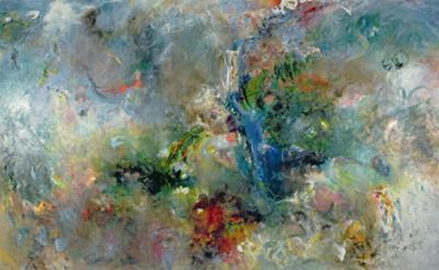 Valley of the Waterfalls, 1994 by Jane Deakin