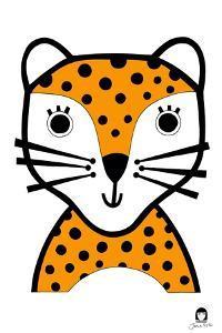 Happy Leopard, 2021 by Jane Foster
