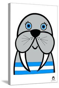 Happy Walrus, 2021 by Jane Foster