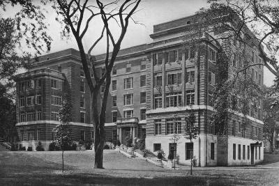 Jane Frances Brown Building for Private Patients, Rhode Island Hospital, Providence, 1922--Photographic Print