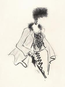 Fur Hat by Jane Hartley