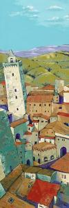 Rooftops of San Gimignano by Jane Henry Parsons