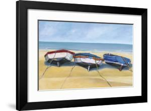 Beach Boats, St. Ives by Jane Hewlett