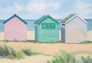 Beach Huts by Jane Hewlett