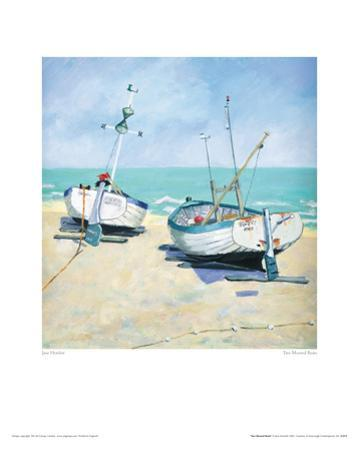 Two Moored Boats